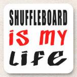 Shuffleboard is my life drink coaster