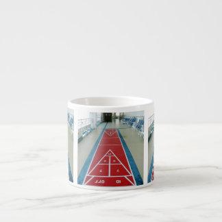 Shuffleboard on Board Espresso Cup