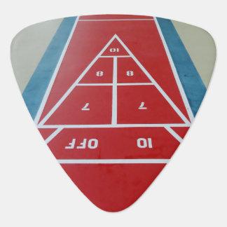 Shuffleboard on Board Guitar Pick