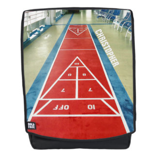 Shuffleboard on Board Personalized Backpack