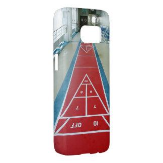 Shuffleboard on Board Samsung Galaxy S7 Case