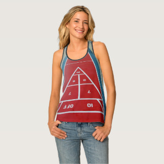 Shuffleboard on Board Tank Top