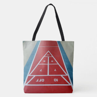 Shuffleboard on Deck Tote Bag