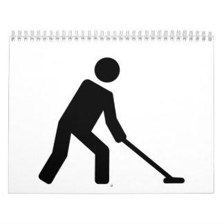 Shuffleboard player calendar