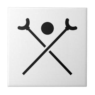 Shuffleboard Tile