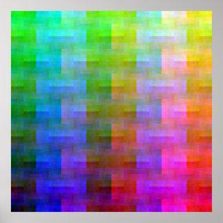 Shuffled Palette (Ranked) Poster