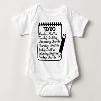 Shufflin Baby Bodysuit