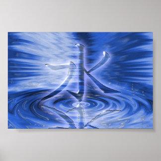 Shui (water) poster