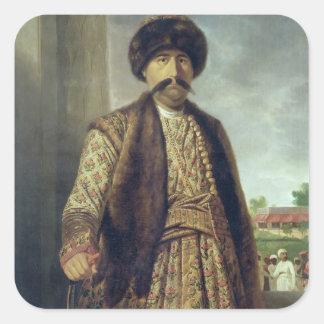 Shuja-ud-Dawlah (1754-75), Nawab of Oudh, 1772 (oi Square Sticker