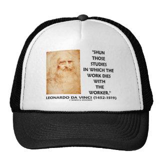 Shun Those Studies In Which Work Dies With Worker Trucker Hats