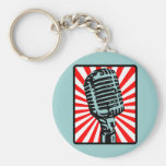Shure 55S Vintage Microphone Keychains