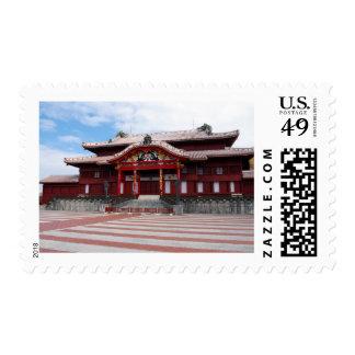 Shuri Castle in Okinawa, Japan Postage
