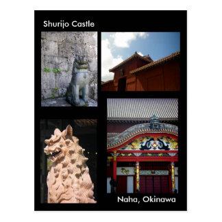 Shurijo Castle /Greetings from Okinawa,Japan Postcard