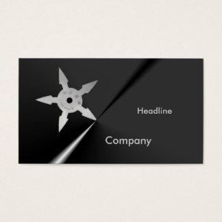 Shuriken Business Card