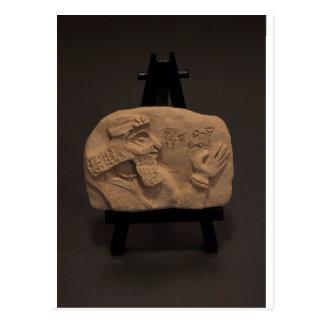 SHUSH EL MUSEO, objeto expuesto 01, tableta Postal