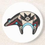 Shush - el oso de Navajo Posavasos Personalizados