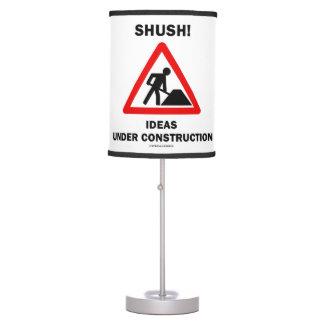 ¡Shush! Ideas bajo humor de la muestra de la Lámpara De Escritorio