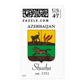Shusha, sello de Azerbaijan