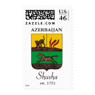 Shusha sello de Azerbaijan