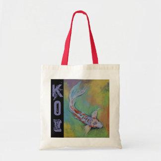 Shusui Butterfly Koi Tote Bag