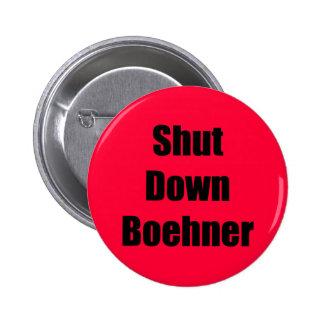 Shut Down Boehner 2 Inch Round Button
