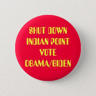 SHUT DOWN INDIAN POINT BUTTON