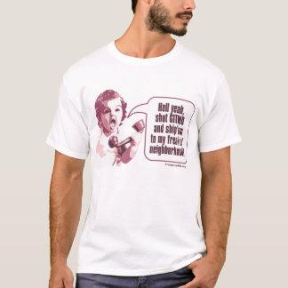 Shut Gitmo - Angry Baby Freaks Out T-Shirt