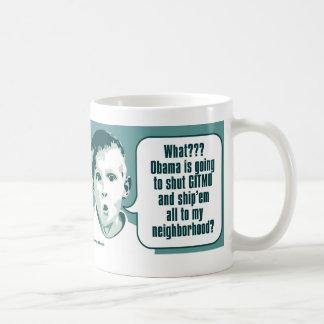 Shut Gitmo - Boy's Big Surprise Coffee Mug