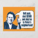 Shut Gitmo - Sarcastic Workman postcard