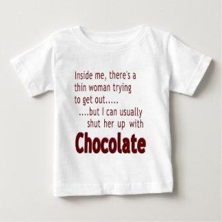 Shut her up with Chocolate Baby T-Shirt