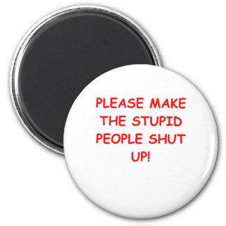SHUT.png 2 Inch Round Magnet