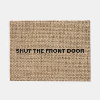 Trendy doormats welcome mats zazzle for 1 2 shut the door
