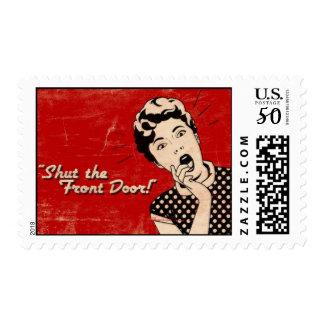 Shut The Front Door Stamp (postage)