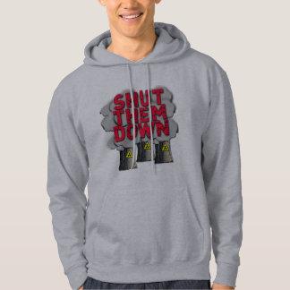 SHUT THEM DOWN Nuclear Power Plant Tshirt