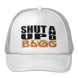 SHUT UP AND BLOG TRUCKER HAT