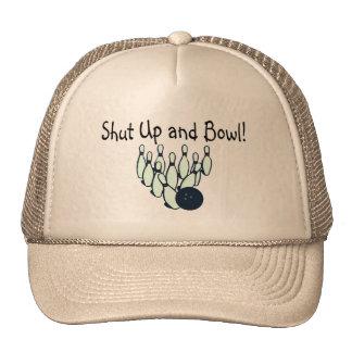 Shut Up and Bowl Trucker Hat