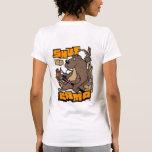 Shut Up And Camp Ladies Shirt