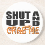 SHUT UP AND CRAB ME (Crabs) Coaster