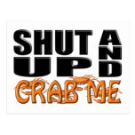SHUT UP AND CRAB ME (Crabs) Postcard
