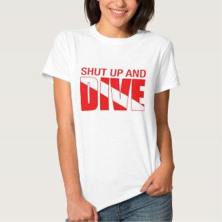 Shut Up And Dive Tshirt