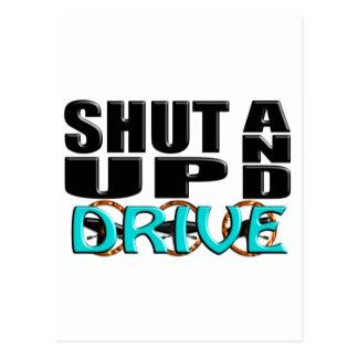 SHUT UP AND DRIVE POSTCARD