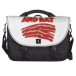 Shut Up And Eat Bacon Commuter Bag
