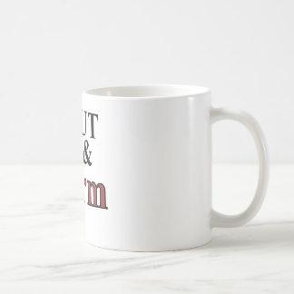 shut up and farm coffee mug