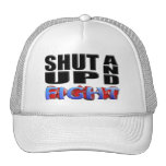 SHUT UP AND FIGHT MESH HATS