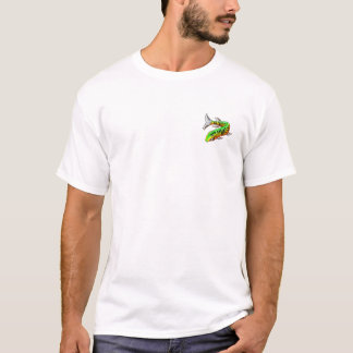 Shut up and Fish w/Front Pckt Design T-Shirt