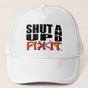 1596dfc7 SHUT UP AND FIX IT (Tools) Trucker Hat
