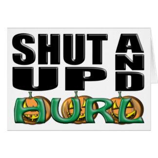 SHUT UP AND HURL (Punkin' Chunkin') Card
