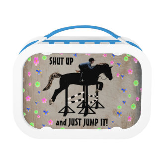 Shut Up and Just Jump It Horse Yubo Lunch Boxes