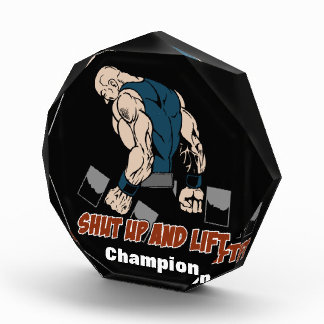 Shut Up and Lift Weightlifter Awards