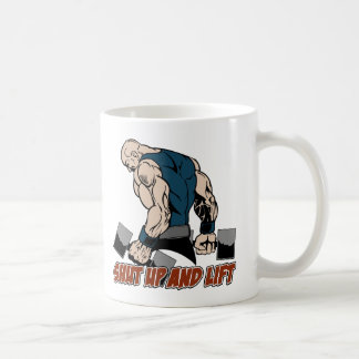 Shut Up and Lift Weightlifter Coffee Mug